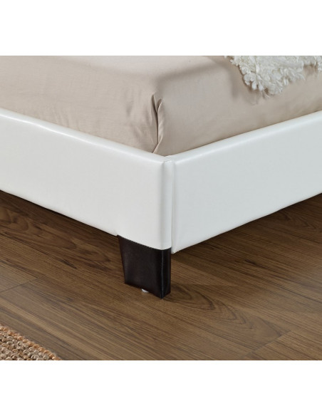 3 Lit Basic 140x190cm Blanc