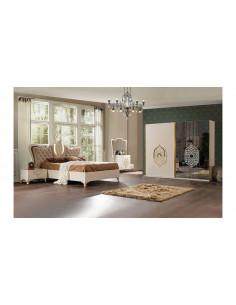 Armoire Tugra- beige miroir