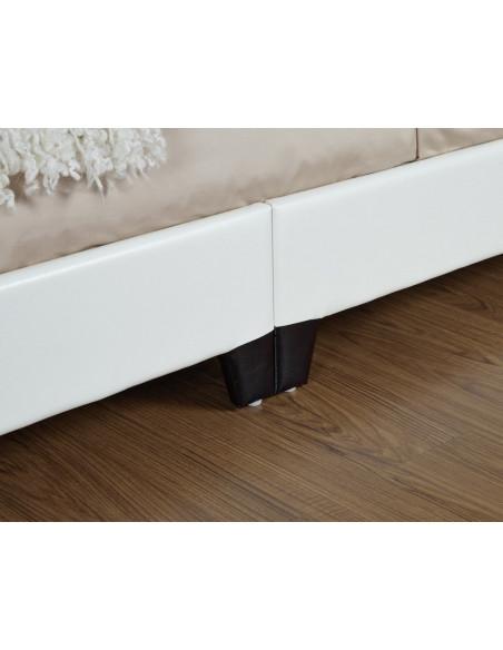 4 Lit Basic 140x190cm Blanc