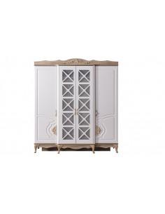 Armoire Balat beige 4 portes