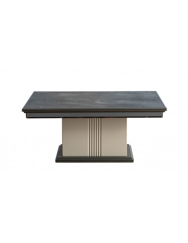 Table Basse Marbre-Gris anthracite &...