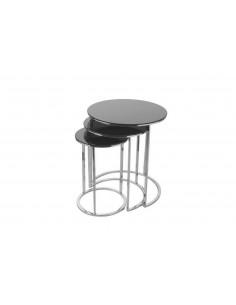 Table D'appoint Noir Fumé...