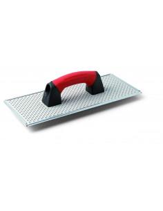 1  TINCUTPAD - Taloche en acier galvanisé pour le dépolissage et le nivellement des dalles de polystyrène