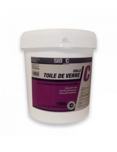 1 COLLE TOILE DE VERRE SIDAC 15Kg