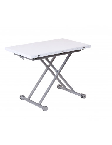 1 Table up & down VERSO Blanc