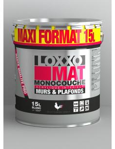 1 LOXXO Peinture Mat Monocouche 15L Blanc