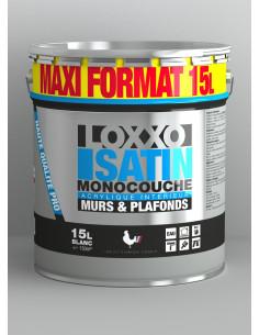 1 LOXXO Peinture Satin Monocouche 15L Blanc -