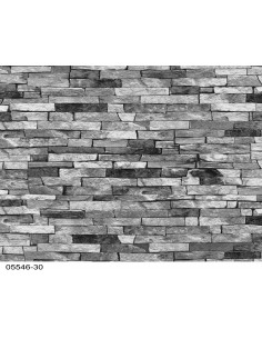 1 Papiers Peints Brique Gris Argent