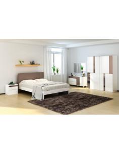 1 chambre a coucher ROMA - blanc