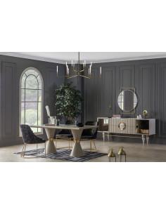 table a manger marbre EMIRGAN